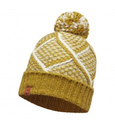 Knitted Hat Plaid Tobaco