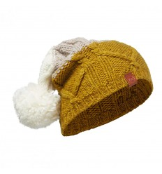 Knitted Hat Braid Tobaco