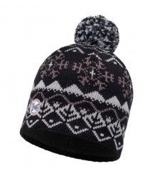 Knitted & Polar Hat Vail Black