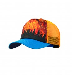 BUFF Trucker Cap Lake Reflex Dark Brown