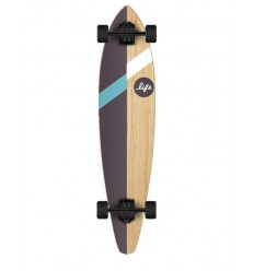 TABLA LONGBOARD COMPLETA LIFE 36 BROWN