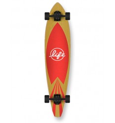 TABLA LONGBOARD COMPLETA LIFE 40 RED